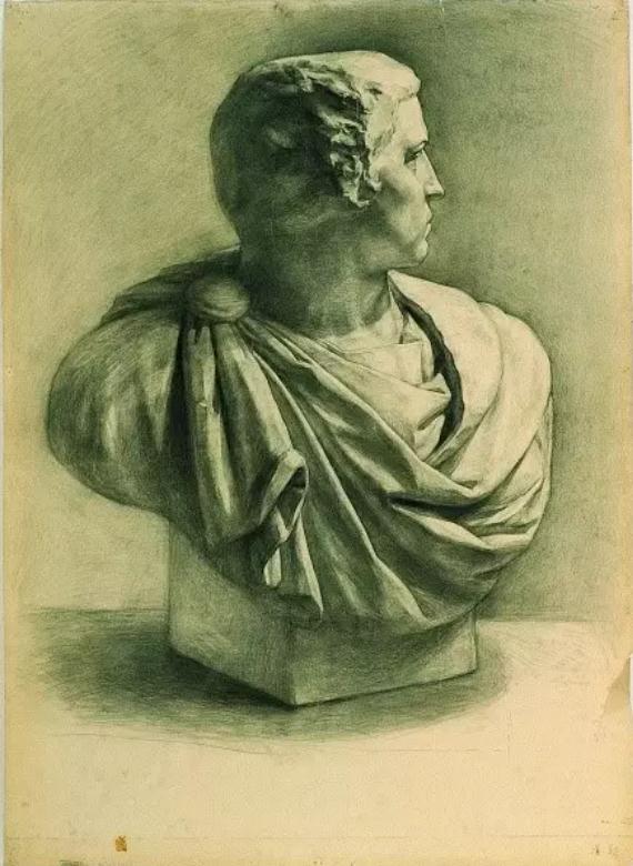 中央美术学院史上最经典的素描石膏像,重庆素描培训画室,13