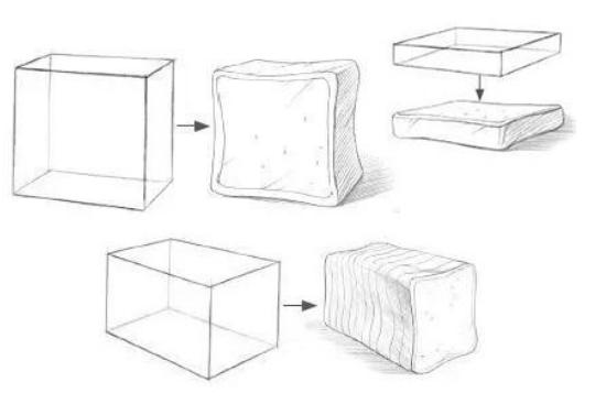 重庆画室学子还不知道如何构图?那你得从视觉的角度去学习构图!