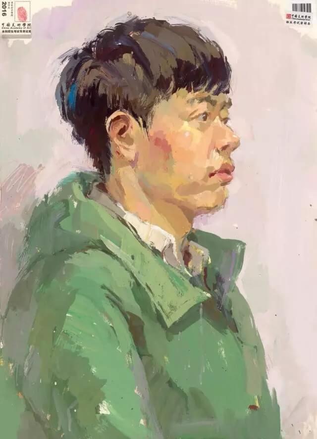 重庆美术培训班分享十年前的美院美术校考高分卷,画成这样就能上美院?图八