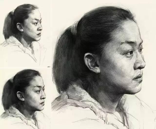 重庆美术培训画室为你解决 | 素描头像学习中的常见问题!