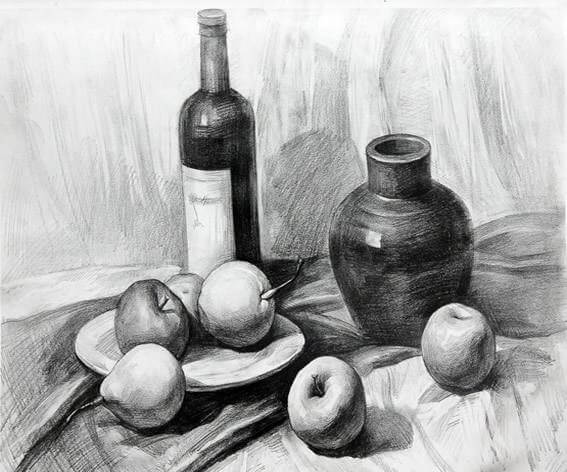 各省美术一模素描高分卷大pk,重庆美术集训画室带你来看看都有哪些共同特征?