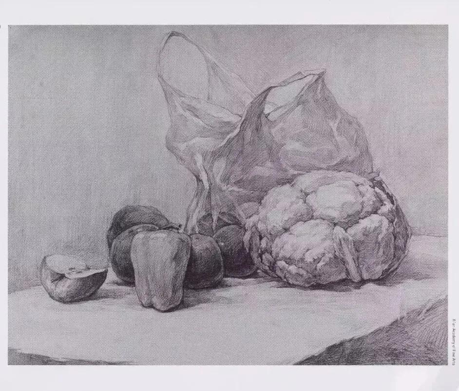 重庆美术培训班分享十年前的美院美术校考高分卷,画成这样就能上美院?图十九