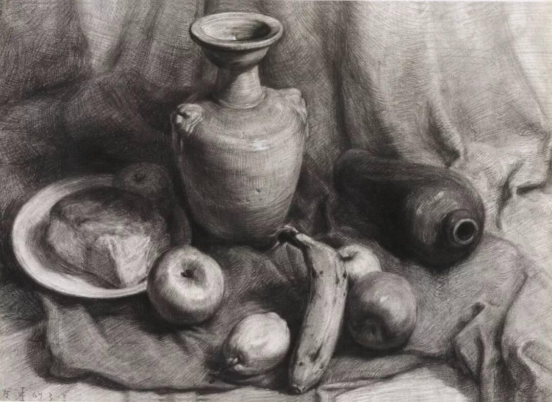 艺考动荡| 重庆美术集训画室带你看看素描静物怎么画?
