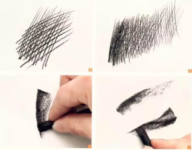 """美术干货!素描绘画中,几种实用的""""线""""的运用技巧!图六"""