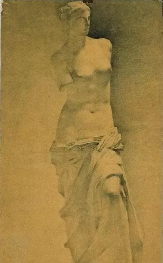 中央美术学院史上最经典的素描石膏像,重庆素描培训画室,07