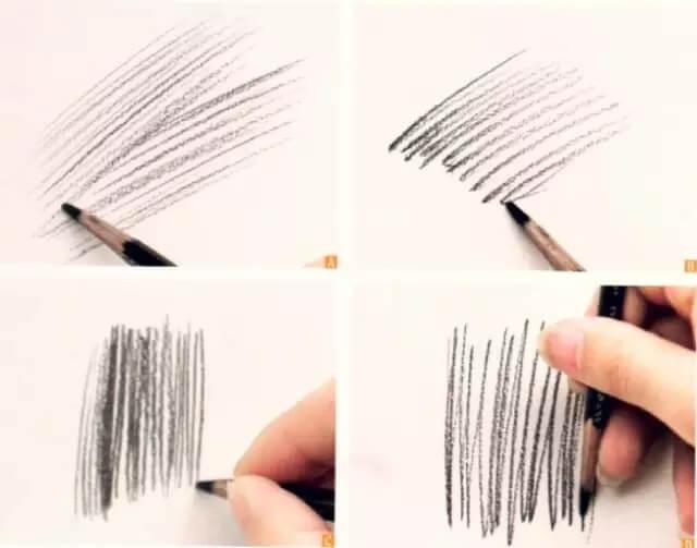 """美术干货!素描绘画中,几种实用的""""线""""的运用技巧!图三"""