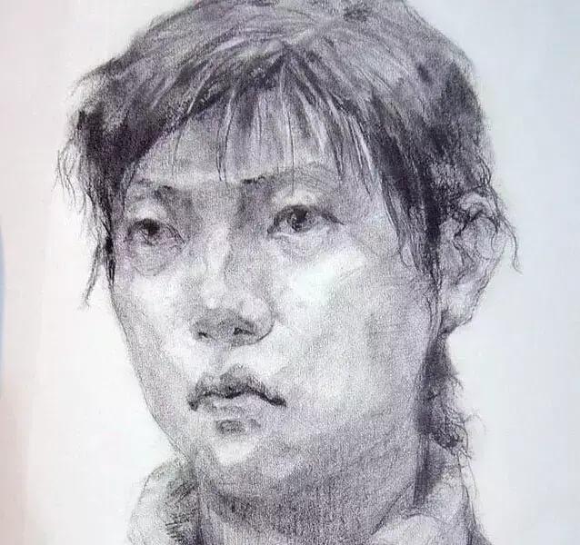 重庆美术培训班分享十年前的美院美术校考高分卷,画成这样就能上美院?图二十