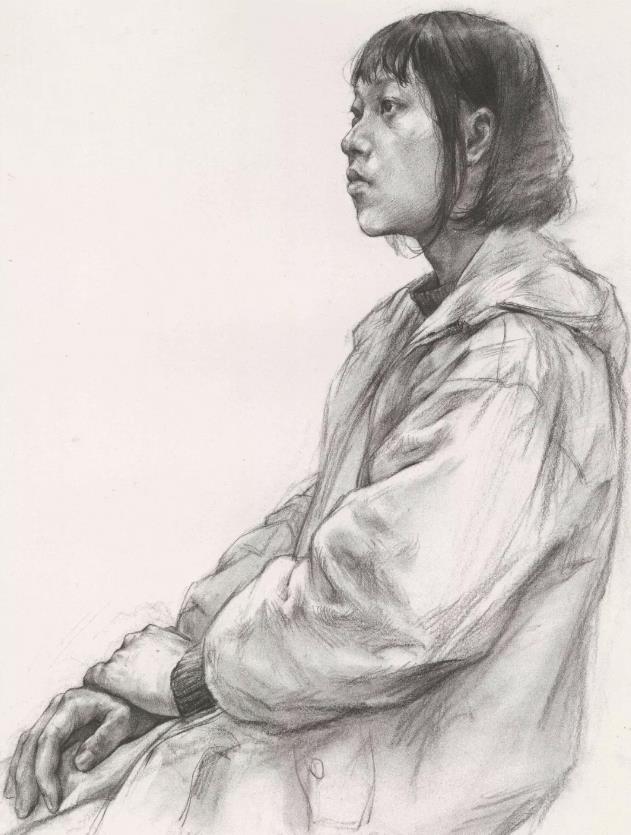 国美素描头像,重庆画室,重庆素描培训,03