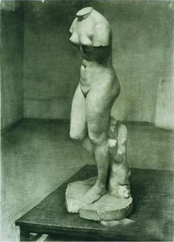 中央美术学院史上最经典的素描石膏像,重庆素描培训画室,15